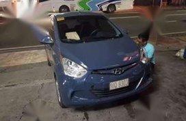 Hyundai Eon 2016 GLX Manual Blue For Sale