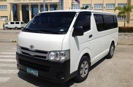 Toyota Hiace Commuter Van 2013 D4D 2.5L Diesel For Sale