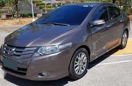 2011 Honda City 1.5E AT Brown Sedan For Sale