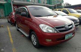 Toyota Innova J Gas 2006 Red SUV For Sale