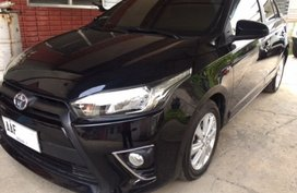 2014 Toyota Yaris 1.3E A/T Black For Sale