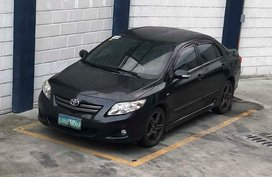 Toyota Corolla Altis 1.6V 2010 AT Black For Sale
