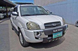 2007 Hyundai Tucson 2.0 Crdi AT White For Sale