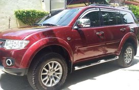 Mitsubishi Montero Sport GLS V AT Red For Sale