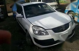 Fresh Kia Rio Manual White Sedan For Sale