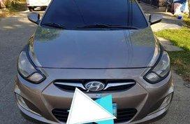Hyundai Accent 2013 Manual Beige Sedan For Sale