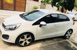 2014 Kia Rio Hatchback AT White For Sale