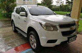2014 Chevrolet Trailblzer LTX White SUV For Sale