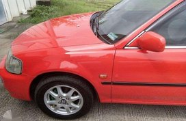 Honda City 1999 TypeZ 1.5 EXi Red For Sale