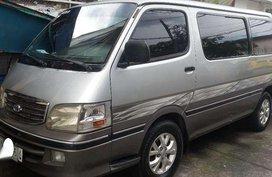 Toyota Hiace 2001 Manual Silver Van For Sale