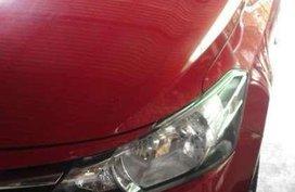 Toyota Vios J 2015 Manual Red Sedan For Sale