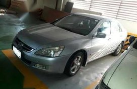 Honda Accord 2004 AT Silver Sedan For Sale