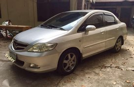 honda city 2006 vtec manual silver sedan for sale
