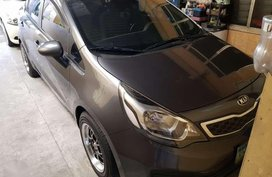 Kia Rio 2012 Automatic Sedan Gray For Sale