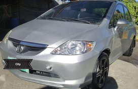 Honda City 2003 Manual IDSI Silver For Sale