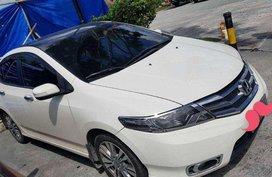 Honda City 1.5E AT 2013 White Sedan For Sale