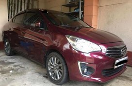 2017 Mitsubishi Mirage G4 GLS Red Sedan For Sale