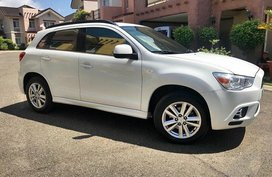 Mitsubishi ASX 2011 Gas White SUV For Sale