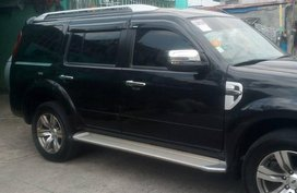 FORD Everest MATIC 2012 Black SUV For Sale