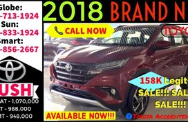 Available now Call 09988562667 Brand New Casa Sale 2019 Toyota Rush G Gas 1.5L AT
