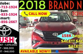 All New Toyota Rush 2018 G AT Top Of The Line