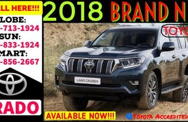 Available now Call 09988562667 Toyota Land Cruiser Prado 2019 4x4 AT Diesel 3.0L Premium