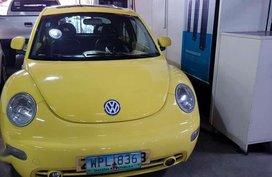 2000 Volkswagen Beetle Yellow For Sale