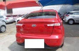 2016 KIA RIO AT Red Sedan For Sale