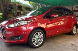 ford fiesta 2016 at red for sale
