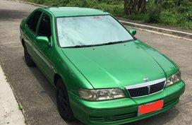 Nissan Sentra Exalta 1.3 2001 Green For Sale