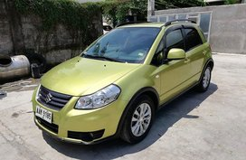 2013 Suzuki SX4 Crossover Yellow For Sale