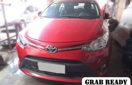 Fresh 2016 Toyota Vios MT Red For Sale