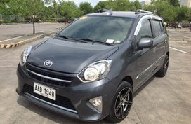 Toyota Wigo G 2014 Automatic Gray For Sale