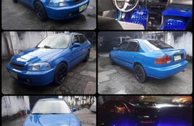 1998 Honda Civic Lxi A/T Blue For Sale