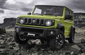 Thailand to welcome Suzuki Jimny 2019, promissing bolstered off-road ability