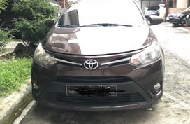Toyota vios brown 2016 rush for sale