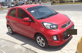 KIA PICANTO 2015 Red HB For Sale