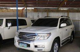 2013 Toyota Land Cruiser GXR White For Sale