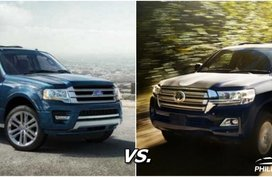 Auto brawl 101: Ford Expedition vs Toyota Land Cruiser