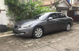 2008 Honda Accord Grey Sedan For Sale