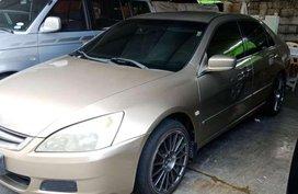 2003 honda accord 2.0 beige for sale