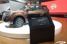 Mega photos of the Nissan Terra 2018 at the on-going GIIAS in Indonesia
