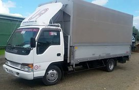 2006 Isuzu Elf Canvass Wingvan with Power Lifter  For Sale