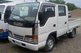 Isuzu Elf 4JG2 Dropside Double Cab 2007 white For Sale