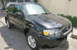 2007 FORD ESCAPE XLS AT Black For Sale