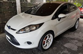 2012 FORD FIESTA AT White For Sale