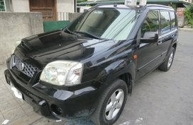 2005 NISSAN XTRAIL AT Black For Sale