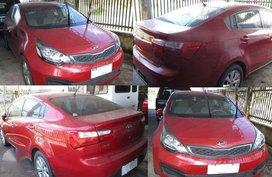 2016 Kia Rio Automatic Red For Sale