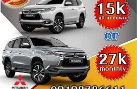 Mitsubishi Montero Sport  2018 lowest dp for sale
