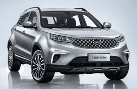 High-tech Ford Territory 2019 to go on sales in China in early 2019